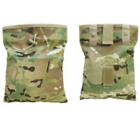 MOLLE Foldable Recovery Pouch Roll Up Magazine Drop Dump Pouch - MULTICAM