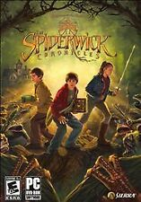 The Spiderwick Chronicles Game PC DVD-ROM Sierra 2008 New for Windows Vista/XP