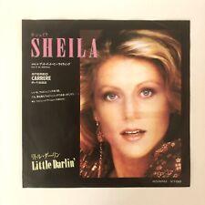 RARE - SHEILA - LITTLE DARLING - 45 TOURS PRESSAGE JAPON - 1981
