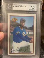 KEN GRIFFEY JR rookie card 1989 Bowman #220 BGS 7.5 old label HOF🔥🔥🔥
