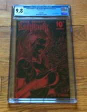 Lady Death 10TH ANNIVERSARY #1 LEATHER LIMITED EDITION HIGHEST GRADE CGC9.8