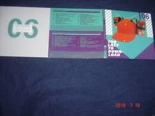 TOO LAZY TO DOWNLOAD #06 WSM 38 TRACK 2 CD PROMO SAMPLER MADONNA DEPECHE MODE M-