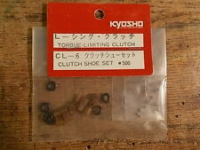 CL-6 Clutch Shoe Set / Option House Torque Clutch - Kyosho Optima Ultima Rocky