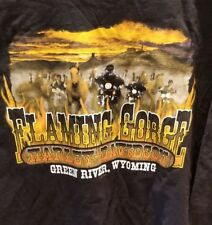Harley-Davidson Flaming Gorge Green River Wyoming T-shirt Size 4xl