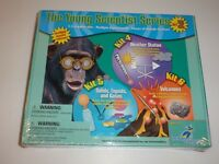 The Young Scientist Set 2: Weather Station; Solids/Liquids; Volcanoes-NIB