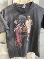 Youth NBA Miami Heat LeBron James #6 Basketball T Tee Shirt Medium