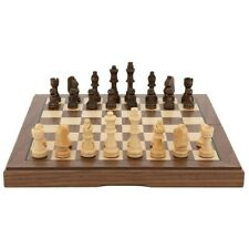 Dal Rossi Wood Chess Set 15 Inch