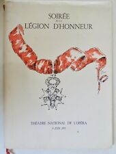 PROGRAMME DU GALA DE LA LÉGION D'HONNEUR 1955