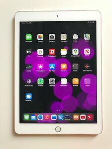iPad Pro 9.7 inch, 128 GB, Rose Gold and with Apple Pencil and Keyboard