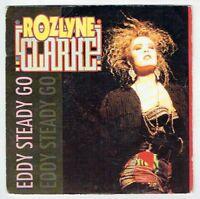 "Rozlyne CLARKE Vinyl 45T 7"" EDDY STEADY GO -... NEW AGE MIX - CARRERE 15005 RARE"