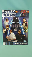 Topps Star Wars Movie Sticker Leeralbum Album Sammelalbum Neu