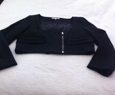 BNWT Carven French Designer Label Cropped Box Style Jacket - Size 40