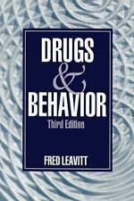 Drugs and Behavior by Fred Leavitt (1994, Paperback, Revised)