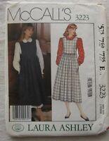 Jumper Sewing Pattern*McCalls 3223*Size 6*UNCUT/FF*Laura Ashley*Blouse*prairie