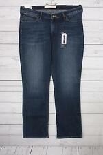 Wrangler Damen Straight Leg Jeanshose blau Gr. W34/l30