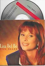 LISA DEL BO - Van alles CD SINGLE 2TR CARDSLEEVE 1995 (TOTO CUTUGNO) Belgium