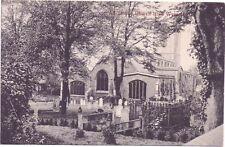 All Saints Church High Wycombe Plus Grave Yard - Pub: Symonds Brothers 1/2d Post