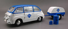 Fiat 600 Multipla Aral + Carrello 1:18 Model MINIMINIERA