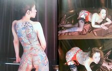 Japanese Tattoo Lady Photo Collection Book Irezumi Horimono Art Fashion wafu MZ