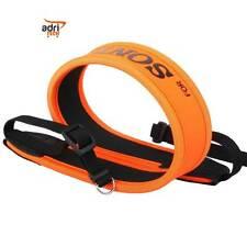 Cinghia Tracolla colore arancio neoprene universale per fotocamera for  SONY