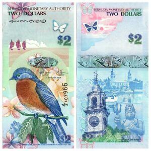 Bermuda - 2 Dollars 2009 UNC