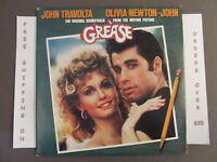 GREASE ORIGINAL SOUNDTRACK DOUBLE LP OLIVIA NEWTON-JOHN JOHN TRAVOLTA RS-2-4002