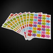 400pcs Label Decal Smile Stars Teacher School Children Kids Reward Sticker Cute