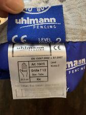 Ulman Saber Fencing Glove. Size 7.5! Fie!