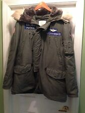 Vintage USAF Tactical Air Command Type N-3B Parka Jacket Coat LARGE  A+Condition
