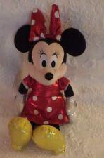 "Ty Disney Sparkle Minnie Mouse Plush Stuffed Animal 14"" Tall"