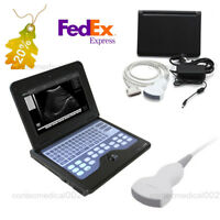 Portable Laptop Machine Digital Ultrasound Scanner 3.5Mhz Convex Probe,US Seller