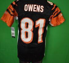 Reebok NFL Boys Cincinnati Bengals Terrell Owens Football Jersey NWT S 0ed5343e9