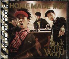 Home Made Kazoku - ROCK THE WORLD - Japan CD - NEW - J-POP - 16Tracks