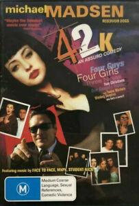 42K DVD 2001 Adventure Comedy Movie - Michael Madsen Funny Film