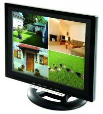 "12"" TFT LCD Split Quadbild Monitor für Überwachung Video Überwachungsmonitor BNC"
