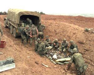 U.S. Army 720th Explosive Ordnance Disposal-Camp Bondsteel-Kosovo-1999 Photo