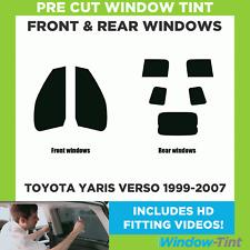 Toyota Yaris 3 puertas 1999-2005 pre corte tintado//Película De La Ventana//Limo//Sun Tira
