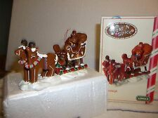 "2004 Lemax Sugar N Spice ONE PIECE 5""L-3""T-2""W GINGER SLEIGH NEW IN BOX  A-ONE"