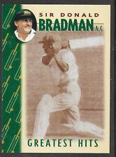 WEETBIX DON BRADMAN GREATEST HITS CRICKET CARD # 6 of 16
