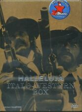 HALLELUJA ITALO WESTERN BOX 3 DVD CON AUDIO ITALIANO + CD + BOOK NUOVO NEW OOOOP