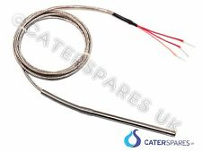 Pt100 3 Cable Termocupla Alta sonda De Temperatura 1 500 mm largo Horno De Pizza Etc..