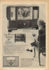 1959 Vintage DuMont TV Television The Royal Sovereign PRINT AD