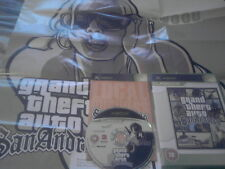 XBOX GAME  SAN ANDREAS GRAND THEFT AUTO