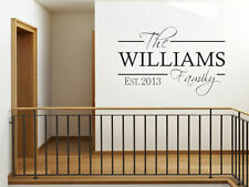 Vinyl Personalised Modern Wall Decals & Stickers