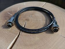 4 Pin To 5 Pin Din Cable Interconnect For Naim Van Damme 1m