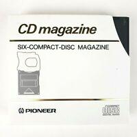 Pioneer • CD Magazine • JD-M100 • Six CD Magazine • Made In Japan