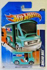 Hot Wheels Bread Box Aqua 2011