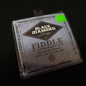 Black Diamond Steel & Silverplated Wound Fiddle Strings .010 - .032 N719