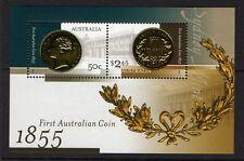 AUSTRALIA SGMS2521 2005 150th ANNIV OF FIRST AUSTRALIAN COIN MNH