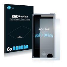 6x Protector Pantalla Apple iPod nano 7a generación (2012) Pelicula Protectora